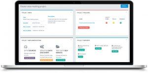 BizDataX data masking interface panel