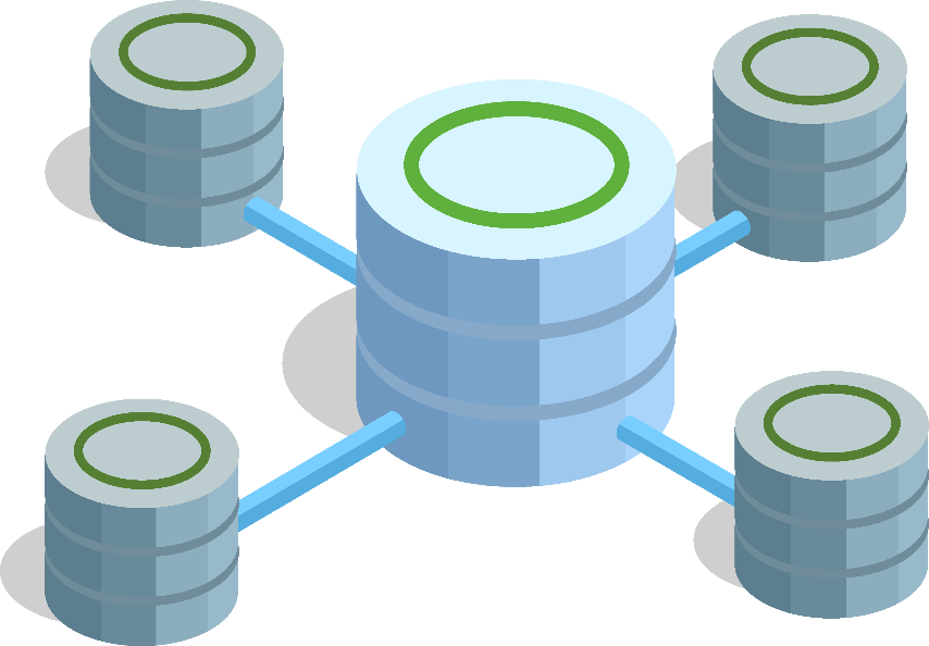 Transforming a big database into many smaller subsets
